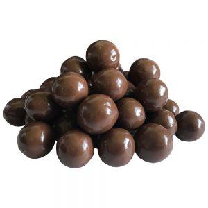 Boules de chocolat au lait maltées